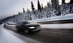 Driving safely in snow and ice