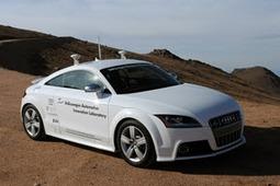 Audis autonomous car
