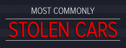 Most commonly stolen cars
