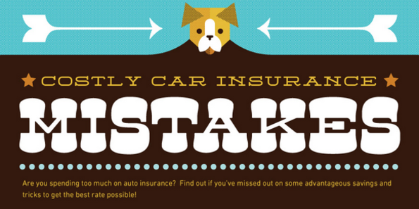 Costly car insurance mistakes